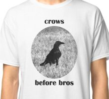 """""""Crows Before Bros"""" Classic T-Shirt"""
