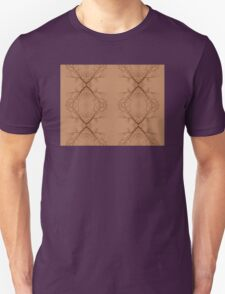 Sepia Branches Unisex T-Shirt