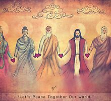 Lets 'Peace' Together Our world by Vik Kainth