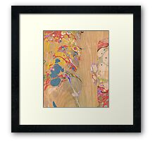 Abstract Painting ; Crest Framed Print