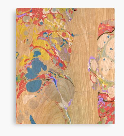 Abstract Painting ; Crest Canvas Print