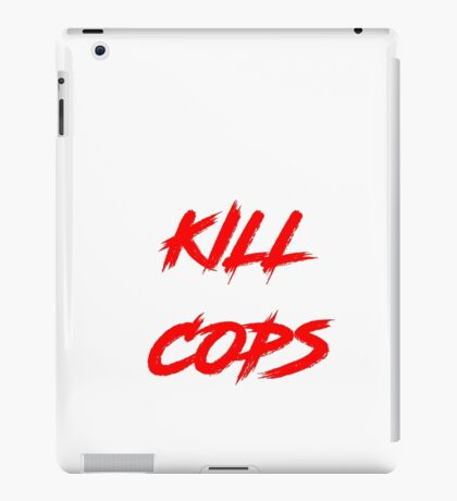 Kill Cops (red) iPad Case/Skin