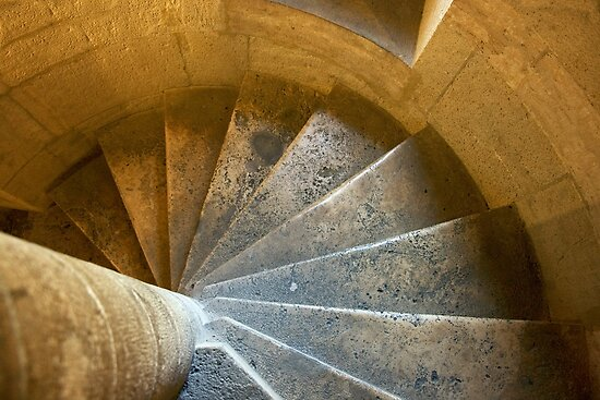 Circular Stairway by phil decocco