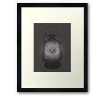 Firefly Cage Framed Print