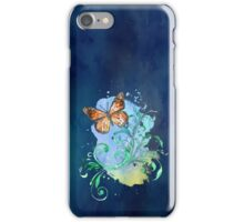 Watercolour Butterfly 03 iPhone Case/Skin