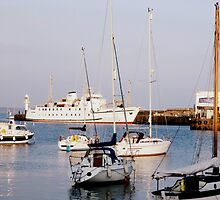 Penzance Harbour by jaxj52