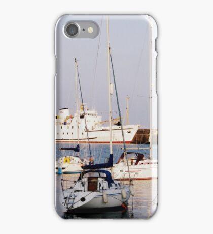 Penzance Harbour iPhone Case/Skin