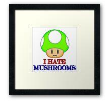 Mushroom 1UP Framed Print