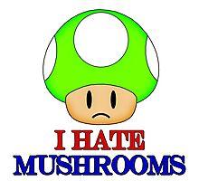 Mushroom 1UP Photographic Print