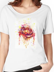 Colorful Cabbage Watercolor 2 Women's Relaxed Fit T-Shirt