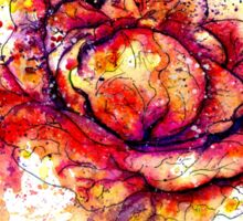 Colorful Cabbage Watercolor 2 Sticker