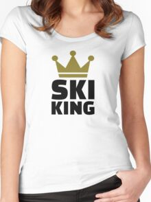 Ski King champion Women's Fitted Scoop T-Shirt