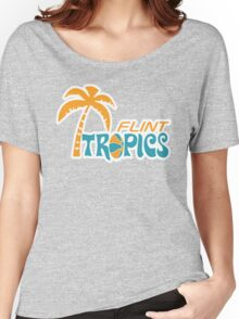 Flint Tropics Retro Women's Relaxed Fit T-Shirt
