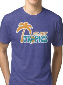 Flint Tropics Retro Tri-blend T-Shirt