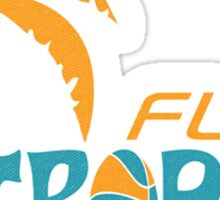 Flint Tropics Retro Sticker