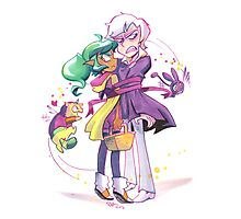 Harpy Gee, Ribbon Candy Photographic Print