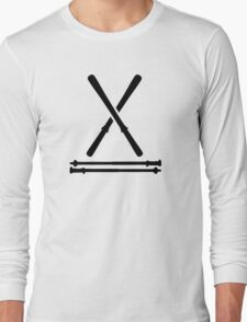 Ski equipment Long Sleeve T-Shirt