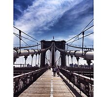 Brooklyn Bridge by omhafez