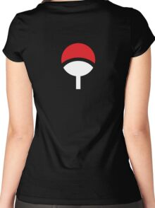 Klan Uchiha Women's Fitted Scoop T-Shirt