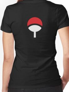 Klan Uchiha Women's Fitted V-Neck T-Shirt
