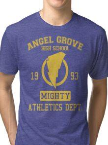 Angel Grove H.S. Tri-blend T-Shirt
