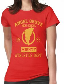 Angel Grove H.S. Womens Fitted T-Shirt