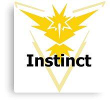 Pokemon GO! Team Instinct  Canvas Print