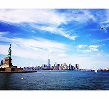 NYC Skyline by omhafez