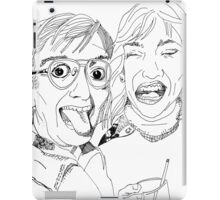 Yearbook Faces iPad Case/Skin