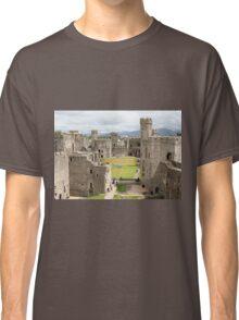 Caernarfon Castle, Wales, United Kingdom Classic T-Shirt
