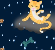 Raining Cats and Dogs Sticker