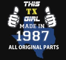 This Texas Girl Made in 1987 by satro
