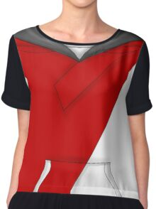 Pokemon Go Red Avatar Shirt Chiffon Top