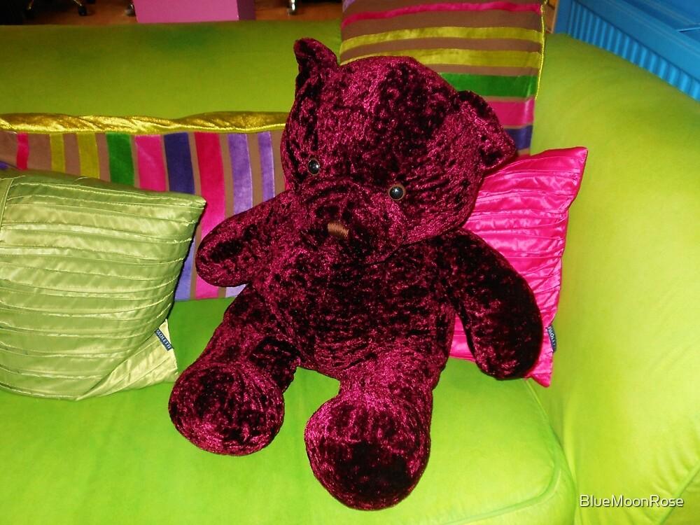 Funky Teddy Bear by BlueMoonRose