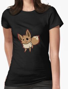 Chibi Eevee Womens Fitted T-Shirt