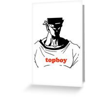 Topboy Greeting Card