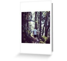 Muir Woods, SF Greeting Card