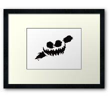 Knife Party; Haunted House Framed Print