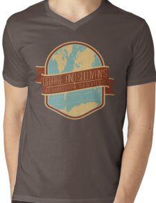 Drake and Sullivan's Mens V-Neck T-Shirt