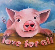 Love For All by Amanda  Van Buren
