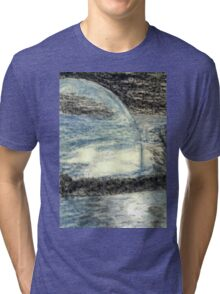Blue Moon Tri-blend T-Shirt