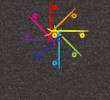 Skateboard Colour Wheel Unisex T-Shirt