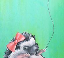 Miss Hedgehog by Amanda  Van Buren