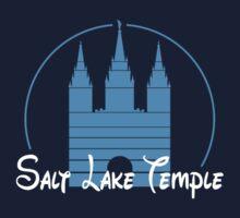 Magical Salt Lake Temple Shirt Kids Tee