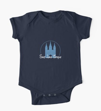 Magical Salt Lake Temple Shirt One Piece - Short Sleeve