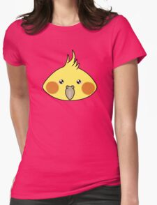 Cute cockatiel Womens Fitted T-Shirt