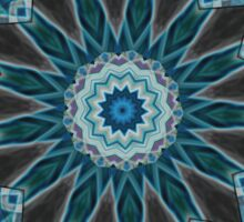 abstract kaleidoscope background Sticker