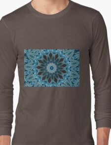 abstract kaleidoscope background Long Sleeve T-Shirt