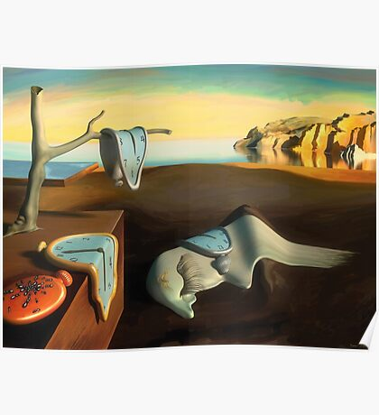 Persistence of Memory Poster