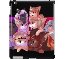 Fire Emblem Cats iPad Case/Skin